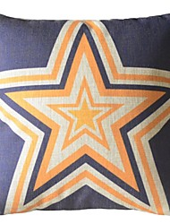 The British Style Star  Decoration Pillow With Insert