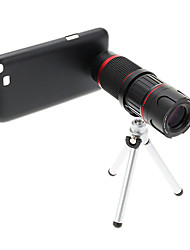 Увеличить 6-18X телефото Металл мобильного телефона объектива с треногой для Samsung Примечание2
