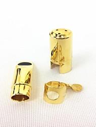 b sopraansaxofoon metalen fluit hoofd (goud) # 7