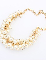 Women's Europe Vintage Palace Pearl Necklace