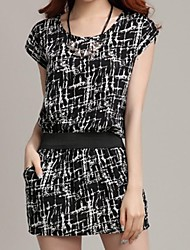 Donna G & D Patterns perla di Fat MM Slim Dress basso