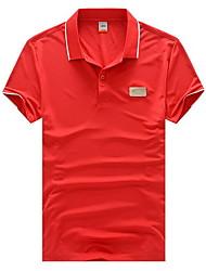 Moda Sport Uomo SMWsport Shirt Colore T Pure (Red)