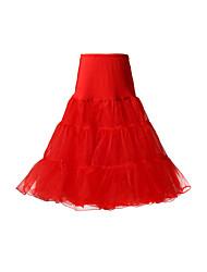 Voile A linha 3 do Nível Joelho de comprimento Petticoats