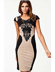 Juciy Women's Lace Bodycon Dress