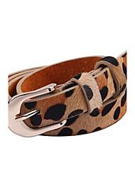 Women Waist Belt , Vintage/Cute/Party/Work/Casual Alloy/Leather