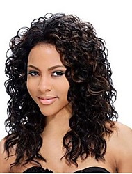 14inch Beautiful Curly High Temperature Synthetic Front Lace Wig  (6 Color available)