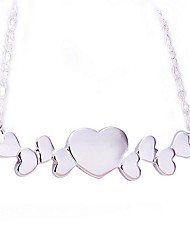 HoneyBaby Women'S Fashion Heart Of Choice Necklace