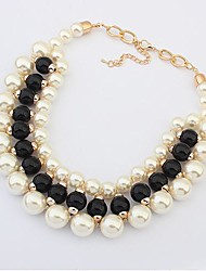 Women's Europe Fashion Elegant Pearl Necklace
