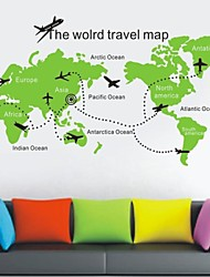Still Life Tourist Map Wall Stickers