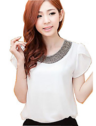 Women's Tops & Blouses , Chiffon Casual CoolCube