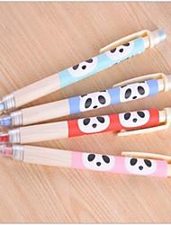 Panda Pattern 0.5mm Автоматический карандаш (случайный цвет)