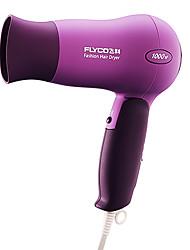 Hot moda e dobrável com temperatura constante Flyco secador de cabelo