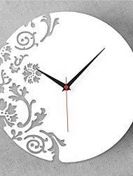 "12""H China Style Acrylic Wall Clock"