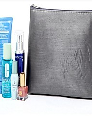 Mulheres Modest Luxo Cinza Prata Rosa Grande Bag Makeup Capacidade
