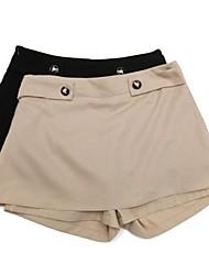 Neue koreanische Art-Sommer-Frauen Chiffon-Hot-pants Casual Dress Design-Shorts schlanker aussehen