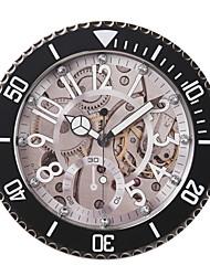 """14 """"H-Rouge Rolex vitesse Horloge murale de style métal"""