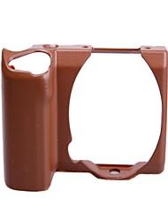 Funda para cámara personalizado para el Sony Micro Individual NEX-5T, NEX-5R, NEX-5 TL Modelo-Coffe