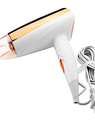O mais novo 1600W dobrável Hot and Cold secador de cabelo