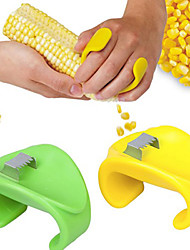 Пластиковые Кукуруза Стриптизерша Овощечистка, L6.5cm х W4.5cm х H1cm