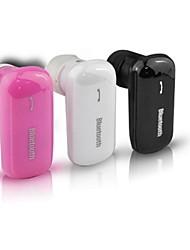 Q58 fone de ouvido Bluetooth v4.0 gancho controle de volume de alta qualidade com cancelamento de ruído para telemóvel