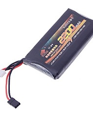Fire Bull 11.1V 2200mAh High Rate Li-po RC Battery for RC Airplane/ Boat/ Car
