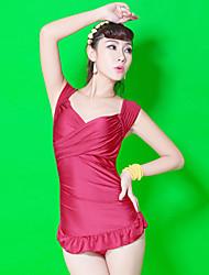 Mulheres Spa Praia Pequeno Steel Plate Reúna Tripe-Thin Pedaço de um vestido Swimsuit