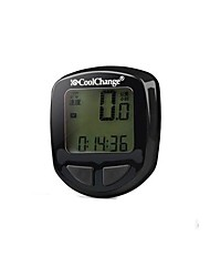 Cycling High Performance Anti Jamming Black Computer Odometer speedometer Calories