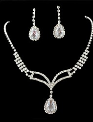 Jewelry-Necklaces / Earrings(Alloy)Wedding / Party Wedding Gifts