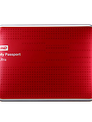 Western Digital Passport Ultra USB3.0 2T 2.5-inch HDD Portable External Hard Drive[Red]