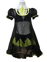 Vocaloid Hatsune Miku Black & Yellow Cosplay Costume