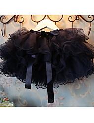 Girl's Cotton Blend Skirt , Summer