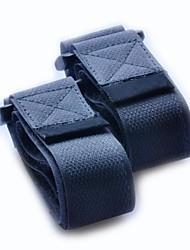 nylon chiusura a nastro fibbia della cintura di compressione-nero 2.5x60cm (2 pezzi confezione)