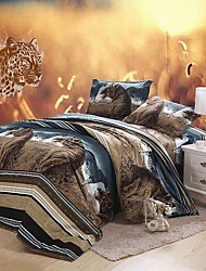 YAMANNI  Large Version 3D Dispersion Prairie Style Printing Bedding Set