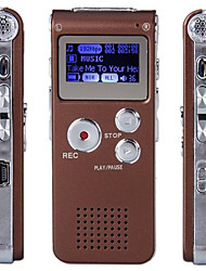 Date 8G MP3 Digital Voice Recorder (café)