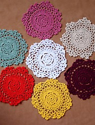 12 100% Cotton Coasters