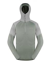 AMADIS Celadon poliéster manga larga Anti-UV Pesca con capucha