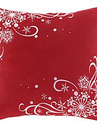 Traditionelle Red One Polyester Dekorative Kissenbezug