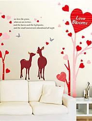 Modelo del amor etiqueta de la pared (1PCS)