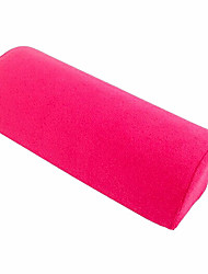 Towel Fabric Soft Pink Hand Cushion Pillow Rest Nail Art Treatment