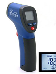 "DT-810 0.9 ""LCD sans contact IR infrarouge numérique Thermomètre infrarouge Laser Blue Point (6F22/9V)"