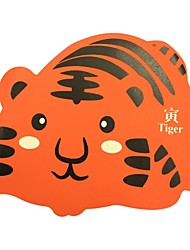 Qianjiatian ® Tiger Signo Durable Mouse Pad