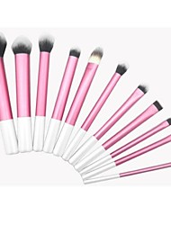 11 Makeup Brushes Set Synthetic Hair Face / Lip / Eye Sedona