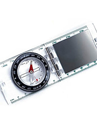 Outdoor Clamshell-Type Compass With Ruler