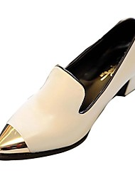 Women's Chunky Heel Pointed Toe Pumps Shoes(More Colors)