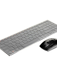 HK3900 2.4G Wireless-Maus (1000dpi) Metall wasserdicht Wireless Tastatur-2.4G