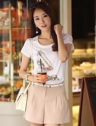Женские сплошного цвета шорты