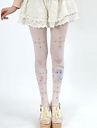 Candy Girl Cute Cat & накрест Сладкая Лолита Чулки Колготки