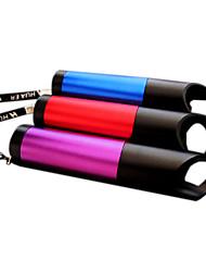 9-LED плоское шлифование Процесс Женская Самооборона светодиодный фонарик (3xAAA, случайный цвет)