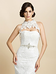 Wedding / Party/Evening Cotton Coats/Jackets Sleeveless Wedding  Wraps