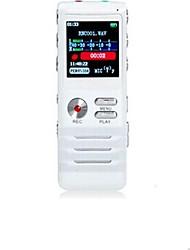 Co-crea Dual-core Grabadora digital de voz de 4GB (Blanco)
